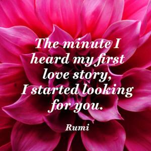 Quotes About Love Rumi : Rumi Quotes About Love. QuotesGram
