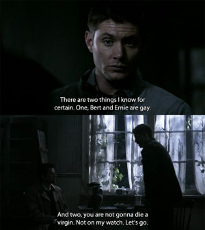 supernatural funny tumblr dean winchester dean quotes supernatural ...