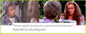 Steel Magnolias (1989) - Movie Quotes ~ 'I'm not crazy' ~ #80smovies # ...