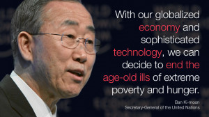 Author: Ban Ki-moon is the Secretary-General of the United Nations.