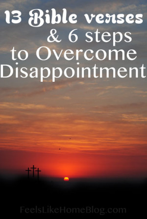 Disappointment (noun): the feeling of sadness or displeasure caused by ...