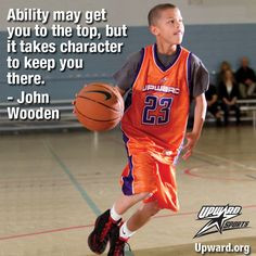 Self Confidence In Sport Quotes Youth sports program - upward