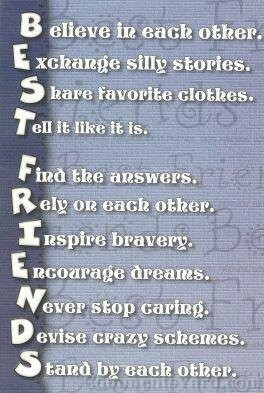best friend is like a dream come true so when you find that one friend ...