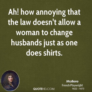 Moliere Change Quotes