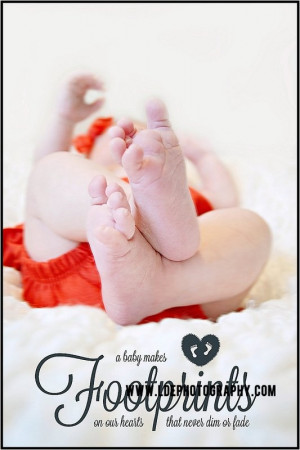Tampa Newborn Photography LDE Photography Baby Quote Footprint our ...