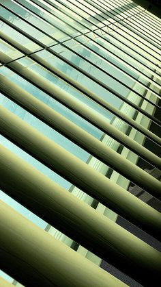 ... of aluminum blinds - so dramatic! Photo: Blinds by bredgur, via Flickr