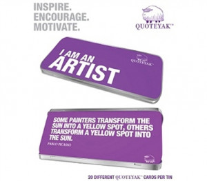 Need A Good Quote - I AM AN ARTIST - Inspirational Quotes