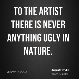 Auguste Rodin Nature Quotes