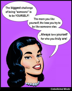 self esteem quotes love yourself Self Esteem Quotes: The More You Like ...