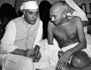 Gandhi Talks With Nehru - Underwood Archives / Contributor/ Archive ...