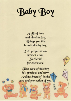 New Baby Boy Poems and Quotes