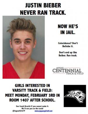 The prep track coach for Ankeny Centennial High School, Andrew Kruzich ...