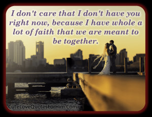 Love Quotes For Him #121