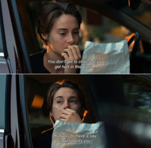love film sad quotes book john green the fault in our stars sadness ...