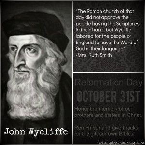 The Mighty Works of God- Reformation Day
