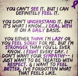 chronic pain = a fight every day