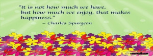 Happiness Quote Facebook Cover