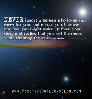Never Ignore : Quotes : I know this all to well because I've been that ...