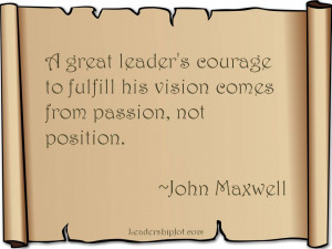 John Maxwell on Leading with Passion