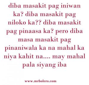 Mga Quotes Na Patama Tagalog Love