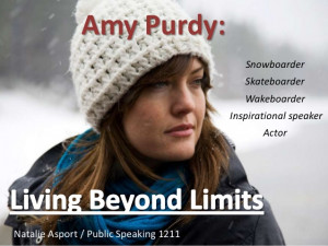 Amy Purdy Ted Evaluation