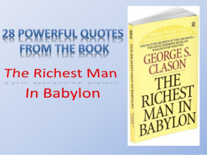 The richest man in babylon and leadership