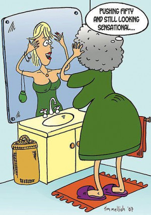 Mirror, mirror on the wall…