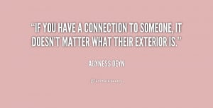 Quotes About Connections with Someone