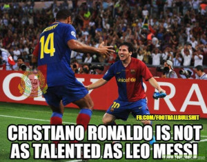 Cristiano Ronaldo Quotes About Messi Theirry Henry on Cristiano