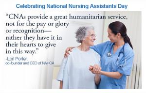 National Nursing Assistant Day