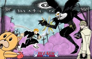 Death Note Bleach Gintama