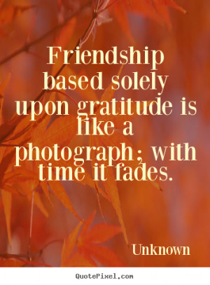 Gratitude Friendship Quotes