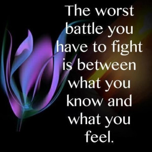 The Worst Battle You Have To Fight #Fibromyalgia #health #quotes