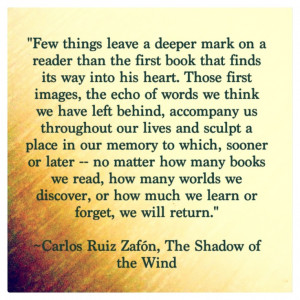 ... Quotes Shadow Of The Wind, The Shadow Of The Wind Quotes, Favorite