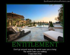 entitlement-business-money-best-demotivational-posters