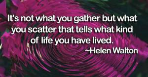 Helen Walton Quote