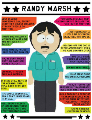 Classical Randy Marsh Quotes