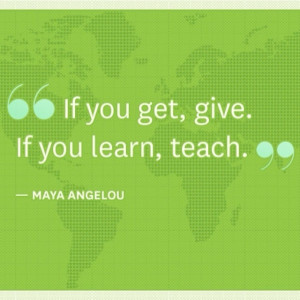 My thoughts and respect are given to Maya Angelou who passed away ...