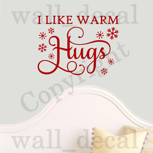 Like-Warm-Hugs-Olaf-Frozen-Quote-Vinyl-Wall-Decal-Sticker-Words-Anna ...
