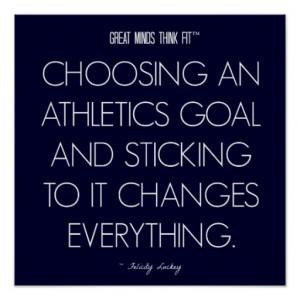 athletics_quote_3_goals_for_success_poster ...