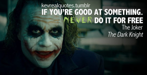 quote from the dark knight the dark knight joker quotes