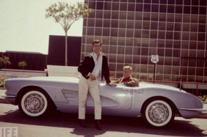 ... 66, the Mother Road Corvette, George Maharis, Martin Milner on imgfave