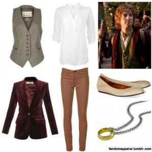 want to be Bilbo for Halloween next year, than I can run around ...