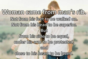 Adam and Eve Matthew Henry QuoteThe Vows, Man Ribs, Woman, Future ...