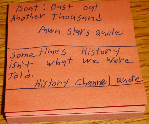 History Channel Quotes
