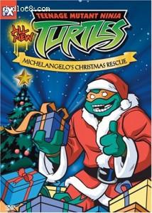 Teenage Mutant Ninja Turtles: Michelangelo's Christmas Rescue Cover