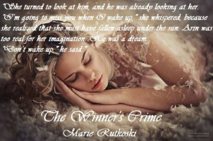 Quote from The Winner's Crime by Marie Rutkoski.
