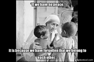 Mother Teresa Quote by missingtherain