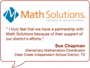 of math professional development to make the promise of effective math ...