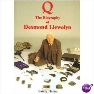 ... Desmond Llewelyn, Authoris Biographies, Llewelyn Paperback, Llewelyn